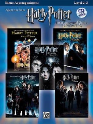 Harry Potter instrumental solos movies 1-5 - Sheet Music - di-arezzo.com