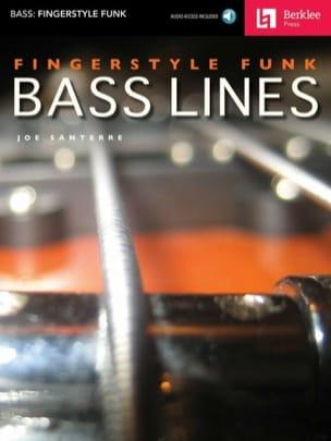 Fingerstyle Funk Bass Lines Joe Santerre Partition laflutedepan