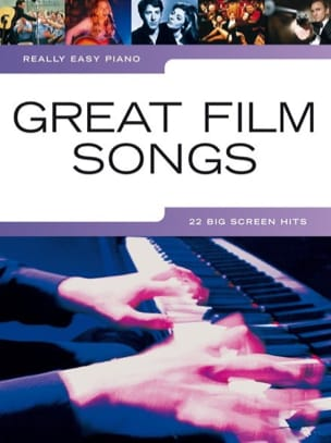 Really easy piano - Great film songs - Partition - di-arezzo.fr