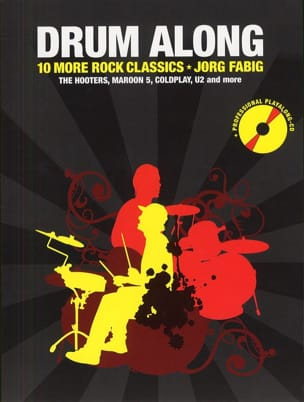 Drum Along - 10 More Rock Classics Partition Batterie - laflutedepan