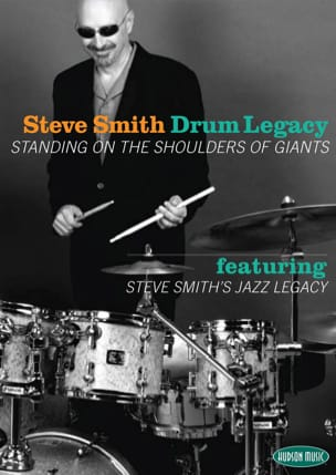 DVD - Steve Smith Drum Legacy - Steve Smith - laflutedepan.com