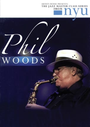 Phil Woods - DVD - The Jazz Class Master Series de Nyu - Partitura - di-arezzo.es