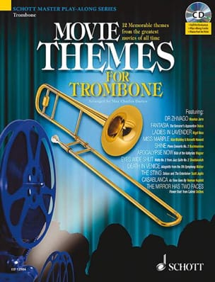 Movie Themes For Trombone - Partition - di-arezzo.fr