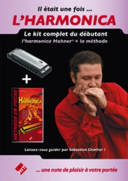 Sébastien Charlier - Once upon a time ... the harmonica - Harmonica method - Sheet Music - di-arezzo.co.uk