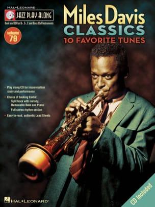 Jazz play-along volume 79 - Miles Davis Classics - laflutedepan.com