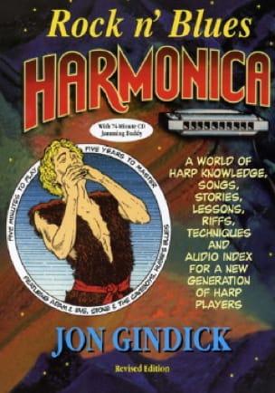 Rock N' Blues Harmonica Jon Gindick Partition laflutedepan