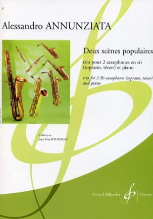 Deux Scènes Populaires - Alessandro Annunziata - laflutedepan.com