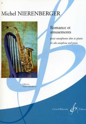 Michel Nierenberger - Romance Et Amusements - Partition - di-arezzo.fr
