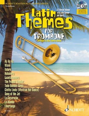 Latin themes Partition Trombone - laflutedepan