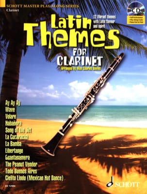 Latin themes Partition Clarinette - laflutedepan