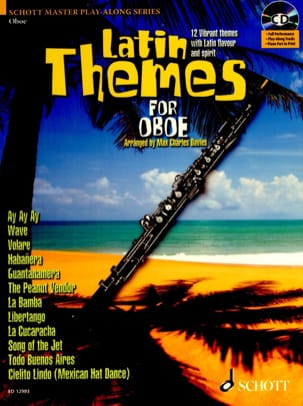Latin themes for oboe - Partition - Hautbois - laflutedepan.com