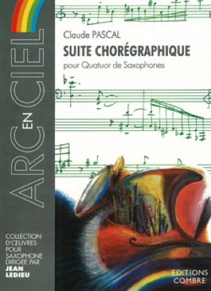 Claude Pascal - Choregraphic Suite - Partition - di-arezzo.co.uk