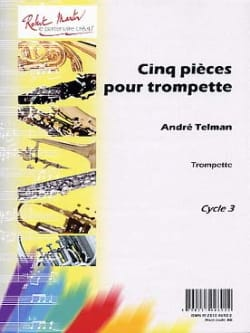 André Telman - Five Pieces For Trumpet - Sheet Music - di-arezzo.co.uk