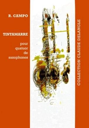 Régis Campo - Tintamarre - Partition - di-arezzo.fr