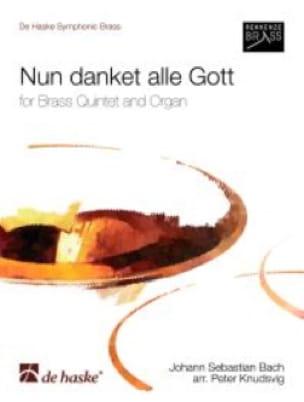 BACH - Nun Danket Alle Gott - Partition - di-arezzo.fr