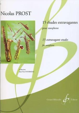 15 Etudes Extravagantes - Nicolas Prost - Partition - laflutedepan.com