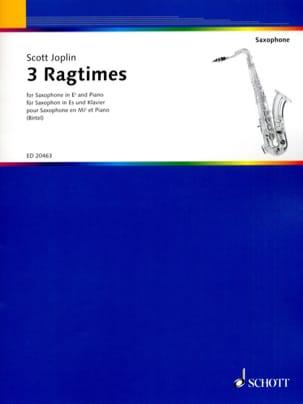 Scott Joplin - 3 Ragtimes - Partition - di-arezzo.fr