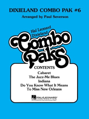 Dixieland Combo Pak # 6 Partition ENSEMBLES - laflutedepan