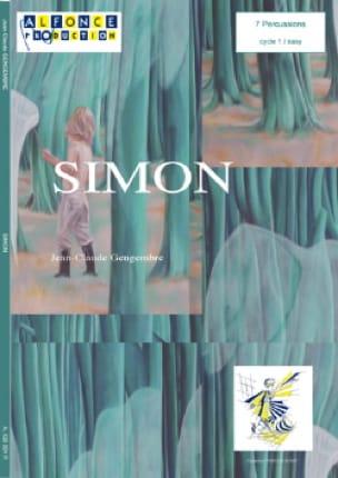 Simon Jean-Claude Gengembre Partition laflutedepan