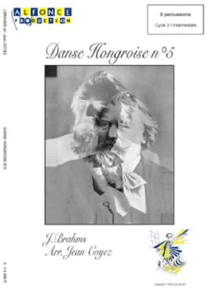 BRAHMS - Hungarian Dance N ° 5 - Sheet Music - di-arezzo.co.uk