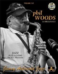 METHODE AEBERSOLD - Volume 121 - Phil Woods - Sheet Music - di-arezzo.co.uk