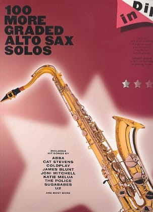 - 100 More Graded Alto Sax Solos - Dip In - Partition - di-arezzo.fr