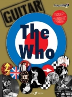 Authentic Playalong The Who - The Who - Partition - laflutedepan.com