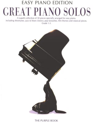 - Great piano solos - The purple book (easy piano édition) - Partition - di-arezzo.fr