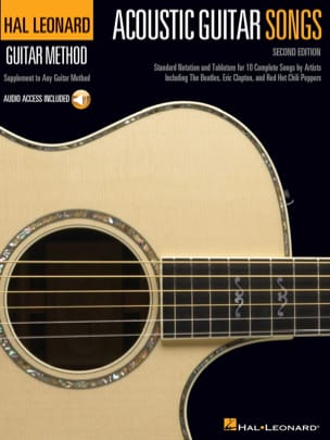 Acoustic Guitar Songs – 2nd Edition - Partition - laflutedepan.com