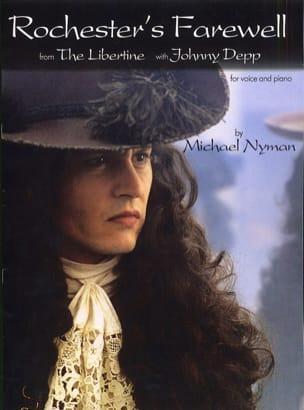 Michael Nyman - La película de despedida de Rochester, El libertino - Partition - di-arezzo.es