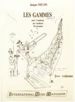 Jacques Toulon - Serie de Trombón del 2 ° volumen - Partitura - di-arezzo.es