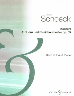 Othmar Schoeck - Konzert Opus 65 - Sheet Music - di-arezzo.co.uk