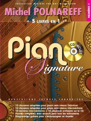 Michel Polnareff - Signature Piano Number 1 - Sheet Music - di-arezzo.co.uk