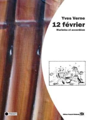 Yves Verne - 12 Février - Partition - di-arezzo.fr