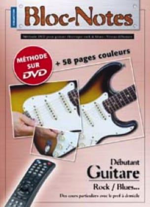 COUP DE POUCE - Notepad, Beginner Electric Guitar Rock / Blues ... - Sheet Music - di-arezzo.com