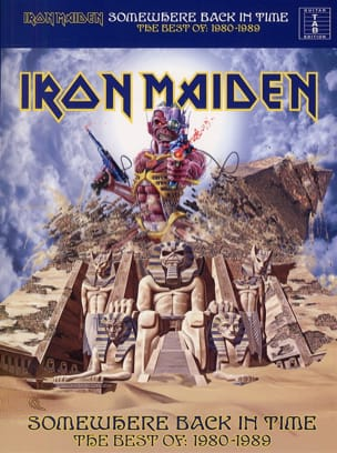 Somewhere Back In Time Iron Maiden Partition Pop / Rock - laflutedepan