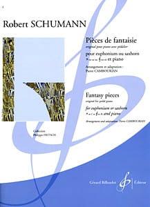 SCHUMANN - Fantasy Pieces - Partition - di-arezzo.co.uk