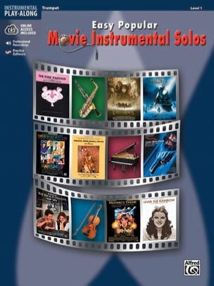 Easy popular movie instrumental solos Partition laflutedepan