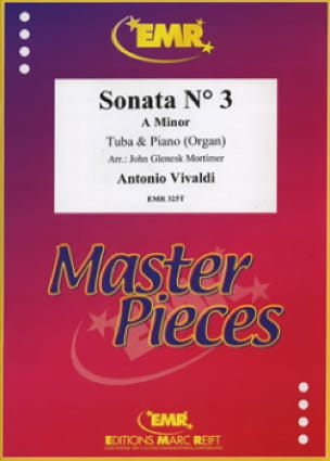 Sonata N° 3 A Minor VIVALDI Partition Tuba - laflutedepan