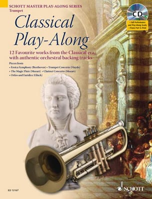 Classical Play-Along - Partition - Trompette - laflutedepan.com