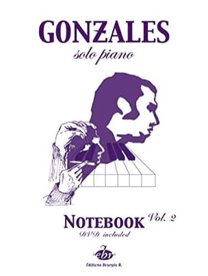 Chilly Gonzales - Solo Piano Notebook Volume 2 - Partition - di-arezzo.fr