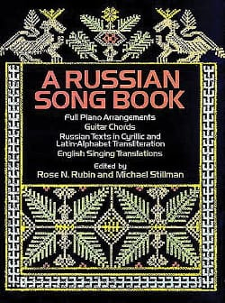 Rubin Rose N. / Stillman Michael - A Russian Songbook - Partition - di-arezzo.fr