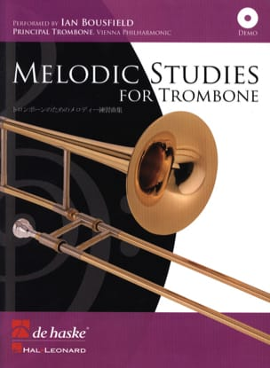 Bertrand Moren - Melodic Studies For Trombone - Partition - di-arezzo.fr