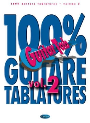 100% Guitar Tablature Volume 2 - Sheet Music - di-arezzo.co.uk