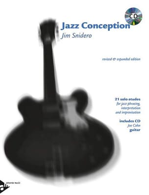 Jim Snidero - Jazz Conception - 21 Solos Etudes - Partition - di-arezzo.fr