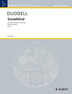 Joe Duddell - Snowblind - Partition - di-arezzo.fr