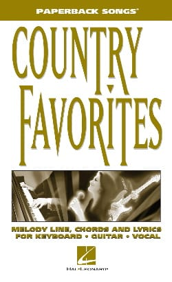 Paperback songs - Country Favorites - Partition - di-arezzo.fr