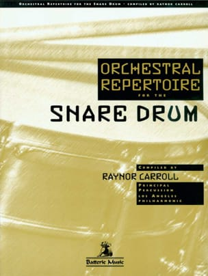 Orchestral repertoire for the snare drum - Sheet Music - di-arezzo.com