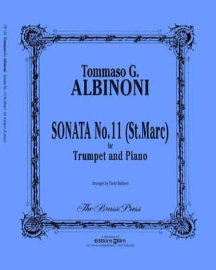 Tomaso Albinoni - Sonata N° 11 St Marc - Partition - di-arezzo.fr