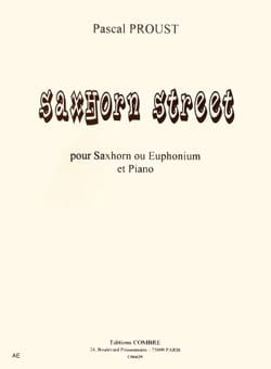 Pascal Proust - Saxhorn street - Sheet Music - di-arezzo.co.uk